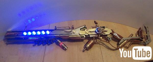 Steampunk Laser Gadgets By Patrick Priebe